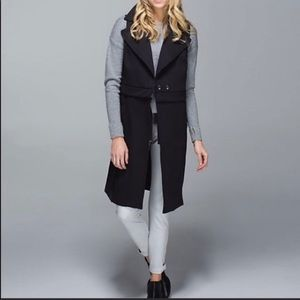 lululemon athletica Jackets & Coats - Lululemon #77  Long Duster Quickchange Vest Jacket